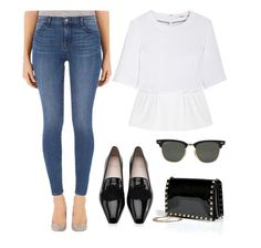 Designer's Pick: The Photo Ready Maria Ankle Crop has all the right details. Click to see how we style it on #Polyvore.