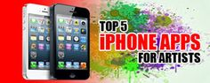 http://www.k2seo.com/top-5-iphone-apps-for-artists/   The best thing about all the iPhone apps on this list is that they are ideal for both beginners and pros alike.