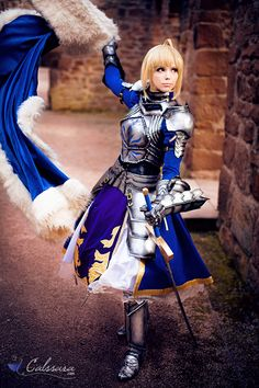 Saber Fate Stay Night Cosplay http://geekxgirls.com/article.php?ID=1993
