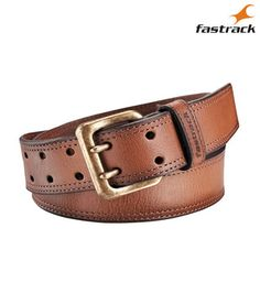 Check out wide, stylish products of Fastrack here, India's favourite youth products brand. Brown Leather Belt, Brass Buckle, Belt Buckles, Antique Brass, Belts, Pos, Stylish, Emboss