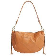 Women's Hobo Cisco Calfskin Leather Hobo Bag