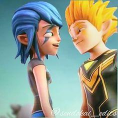 Zak y Cloe 4 ever A ver si aprende la gente que este amor no se toca!!!Por nada del multiverso!!