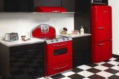 Pro Series Gas Range by Bertazzoni - It\'s a Pink one! | Kitchen ...
