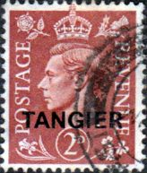 Morocco Agencies TANGIER 1950 SG 283 King George VI Fine Mint Scott 553 Other Tangier Stamps HERE