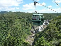 Kuranda Skyrail, Cairns, Australia - Explore the World with Travel Nerd Nici… Fun Places To Go, Wonderful Places, Places Ive Been, Beautiful Places, Moving To Australia, Australia Travel, Western Australia, Queensland Australia, Cairns Queensland