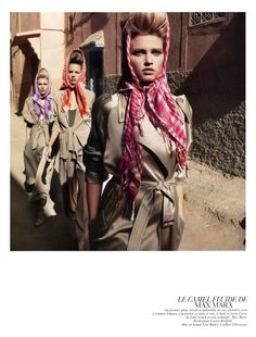Vogue Paris February 2010 | Vogue-à-Porter by Inez & Vinoodh