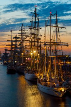 jamas-rendirse: The tall ships races 2013, By Alexander Uljanov.