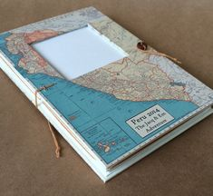 Peru Travel Journal with Vintage Map Pockets and от UsefulBooks