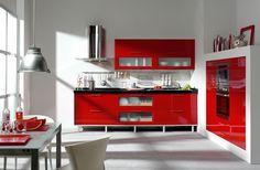 me cansare de la cocina roja????