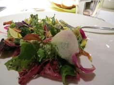 Forty-five ingredient mixed green salad - Pipero al Rex - Roma