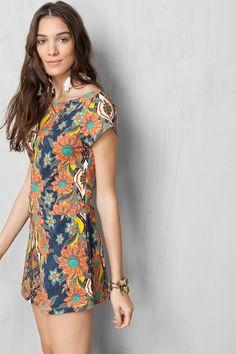 macaquinho estampado washi   Dress to