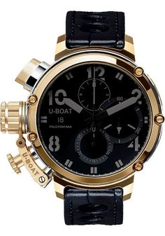 U-Boat Watches - Chimera Sideview Gold - Style No: 7225