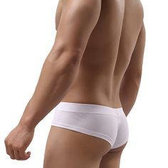 Stylish Sexy Cotton Breathable Low Waist U Convex Pouch Briefs for Men - NewChic