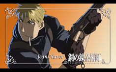 Fullmetal Alchemist Jean Havoc Anime