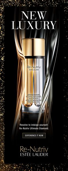 NEW YEAR NEW YOU NEW LUXURY  Resolve to indulge yourself.  Re-Nutriv Ultimate Diamond.  Experience It Now