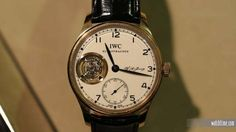 IWC Honors its American Founder with Limited-Edition Portugieser Tourbillon