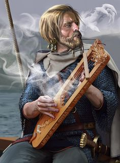 The Skald ('poet') composed at the courts of Scandinavian and Icelandic leaders during the Viking Age and Middle Ages. The most prevalent metre of skaldic poetry is dróttkvætt. The subject is usually historical and encomiastic, detailing the deeds of the skald's patron.