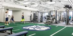 Butler University Hinkle Fieldhouse Weight Training | RATIO Architects