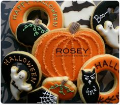 Halloween Cookie Gift by rosey sugar