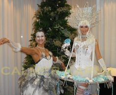 Winter Wonderland themed entertainment to hire -  Winter Wonderland themed entertainment to hire -  Winter Kisses canape hostess and Winter Wonderland Ballet Show to hire. http://www.calmerkarma.org.uk/winter-wonderland.htm    Perfect for corporate Christmas parties.   Hire across the UK inc MANCHESTER, LONDON, Cheshire, BIRMINGHAM, CARDIFF, Bristol
