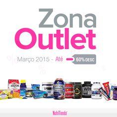 Desfruta da tua zona Outlet de Março com produtos de até 60% de desconto até o fim de stock. Stock limitado!!