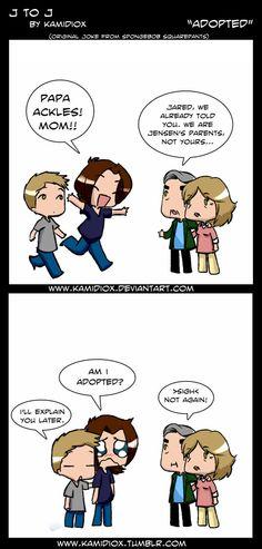 Supernatural haha to funny!
