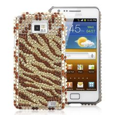 Zebra Rhinestone Diamond Case Cover For Samsung Galaxy - YellowDecorate your Samsung Galaxy with this Zebra Rhinestone Diamond Case. Give your phone a splash of color and make it special.Brand new Zebra Rhinestone Galaxy S2, Samsung Galaxy, Cases, Messages, Yellow, Diamond, Phone, Accessories, Telephone