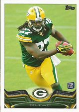 You will receive the two football cards pictured at an incredibly low price of only 25 cents!    1991 Wild Card Brett Favre GREEN BAY PACKERS RC #119 Rookie Card Falcons    Eddie Lacy Rookie Card 2013 Topps #406