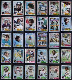 1982 Topps Football Cards Complete Your Set You U Pick From List 201-400 Football Cards, Baseball Cards, Lions Team, Team Leader, Ebay, Soccer Cards