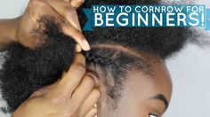 How to braid/cornrow FOR BEGINNERS! - https://blackhairinformation.com/video-gallery/how-to-braidcornrow-for-beginners/
