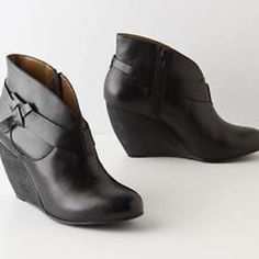21bc6163c Shop Women s Anthropologie Black size 8 Ankle Boots  amp  Booties at a  discounted price at