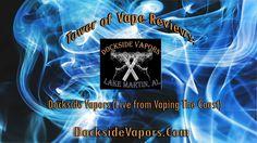 5 flavors from Dockside Vapors!  #vape #vaping #vaper #vapers #vapereview #vapingreview #DocksideVapors #TowerOfVape #eliquid #VapingTheCoast #MobileAL #vapemeet #vapingmeet  https://www.youtube.com/watch?v=I7BUZzGDsKk