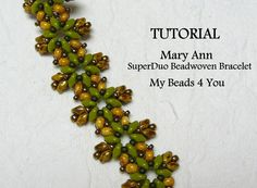 super+duo+bead+bracelet | Mary Ann SuperDuo ... by My Beads 4 You | Jewelry Pattern