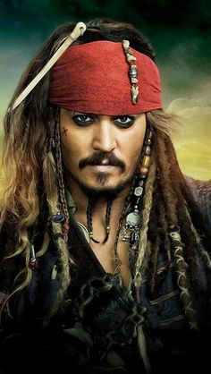 Johnny Depp, Captain Sparrow, pirate, sørøver, portrait, male, actor, guy, man, hair fashion, loved this character, portrait, photograph, photo
