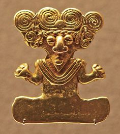 The Gold Rush: collection tales Columbian past Ancient Jewelry, Antique Jewelry, Gold Jewelry, Jewellery, Colombian Gold, Colombian Culture, Mesoamerican, Effigy, Ancient Artifacts
