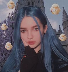 135 shades of blue hair give you all the color inspiration – page 1 Maquillage Normal, Brazilian Lace Front Wigs, Aesthetic Hair, Dye My Hair, Grunge Hair, Ulzzang Girl, Cute Hairstyles, Pretty People, Playboy