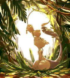 Mew and Mewtwo, Aww soo cute Pokemon Mew, Mew E Mewtwo, Pokemon Fan Art, Pokemon Images, Pokemon Pictures, Pokemon Universe, Catch Em All, Digimon, Game Art