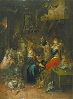 Frans Francken II, Witches Sabbath, 1606 http://www.guardian.co.uk/artanddesign/gallery/2013/mar/22/witches-scottish-national-gallery-in-pictures#