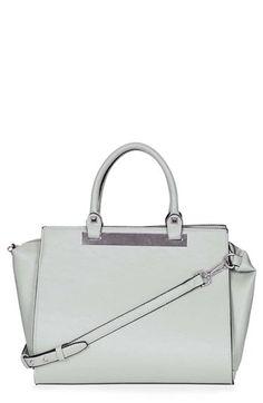 03937926b753 Topshop Faux Leather Handbag | Nordstrom Grey Bags, Topshop Bags, Urban  Fashion, Purses