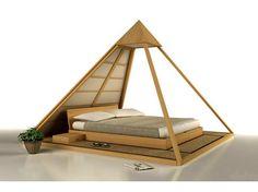 Кровать CHEOPE by Cinius дизайн Fabio Fenili