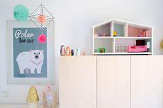 Projektila: lastenhuone, mielen päällä, sisustus