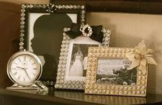 "TLC Home ""Give Boring Picture Frames a High-Style Makeover"""