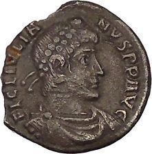 JULIAN II the APOSTATE 362AD Silver Siliqua Lugdunum Ancient Roman Coin i53604 https://trustedmedievalcoins.wordpress.com/2016/01/27/julian-ii-the-apostate-362ad-silver-siliqua-lugdunum-ancient-roman-coin-i53604/
