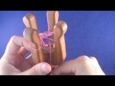 Working on a double lucet - Kaksinkertaisen nyörihaarukan käyttö Lucet, Viking Embroidery, Types Of Weaving, Spool Knitting, Knifty Knitter, I Cord, Viking Knit, Craft Activities, String Art