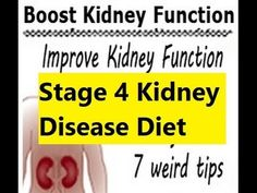 Stage 4 Kidney Disease Diet - Improve Kidney Function