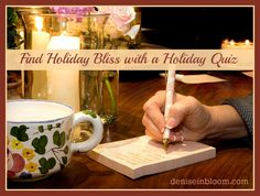 Find Holiday Bliss With A Holiday Quiz
