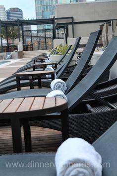 Pool at Omni Hotel Nashville