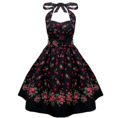 Hell Bunny Prom Pin Up Retro Rockabilly Jena Rose Dress