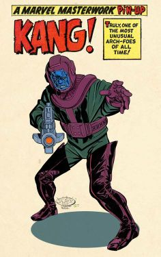 Kang by John Byrne with colours and letters by Gerry Turnbull Marvel E Dc, Marvel Comic Universe, Marvel Comic Books, Comics Universe, Comic Book Characters, Comic Book Heroes, Marvel Characters, Comic Books Art, Comic Art