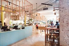 A Mexican Restaurant with a Colorful, Modern Twist | Techne-Architects-Fonda-Restaurant-2